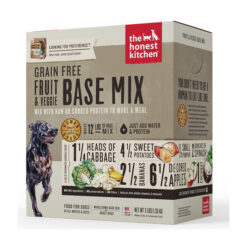 The Honest Kitchen Grain-Free Fruit & Veggie Dehydrated Dog Base Mix