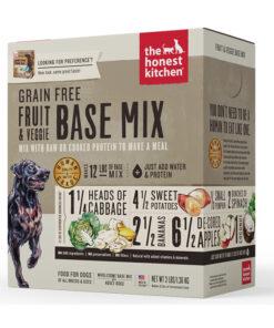 The Honest Kitchen Grain-Free Fruit & Veggie Dehydrated Dog Base Mix