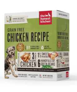 The Honest Kitchen Force Free Range Chicken and Grain Free Dehydrated Dog Food