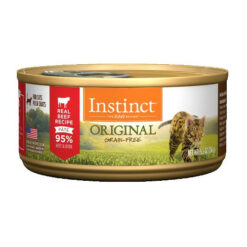 Nature's Variety Instinct Grain Free Beef Recipe Canned Cat Food
