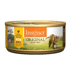Nature's Variety Instinct Cage Free Chicken Formula Canned Cat Food