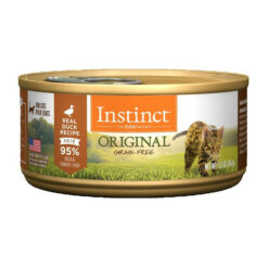 Nature's Variety Instinct Grain Free Duck Recipe Canned Cat Food