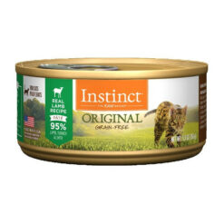 Nature's Variety Instinct Grain Free Lamb Recipe Canned Cat Food