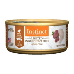 Nature's Variety Instinct Grain Free Limited Ingredient Duck Recipe Canned Cat Food