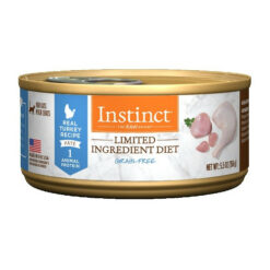 Nature's Variety Instinct Grain Free Limited Ingredient Turkey Recipe Canned Cat Food