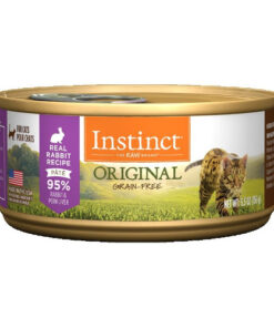 Nature's Variety Instinct Grain Free Rabbit Recipe Canned Cat Food