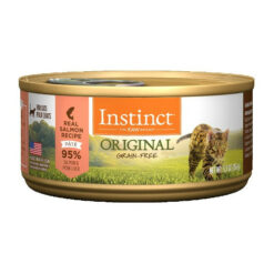 Nature's Variety Instinct Grain Free Salmon Recipe Canned Cat Food
