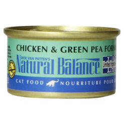 Natural Balance L.I.D. Chicken and Green Pea Canned Cat Food
