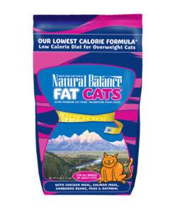 Natural Balance Fat Cats Low Calorie Formula Dry Cat Food