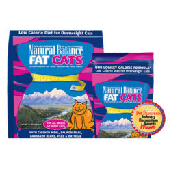 Natural Balance Fat Cats Low Calorie Formula Dry Cat Food