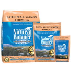 Natural Balance Grain Free Limited Ingredient Green Pea & Salmon Formula Dry Cat Food