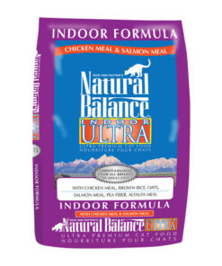 Natural Balance Indoor Chicken & Salmon Meal Dry Cat Food