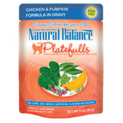 Natural Balance Platefulls® Chicken & Pumpkin Formula in Gravy Cat Pouch
