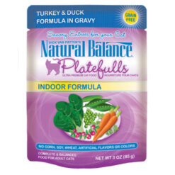 Platefulls® Indoor Turkey & Duck Formula in Gravy Cat Pouch