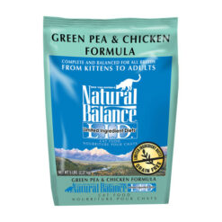 Natural Balance Grain Free Limited Ingredient Green Pea & Chicken Formula Dry Cat Food