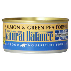 Natural Balance L.I.D. Salmon and Green Pea Canned Cat Food