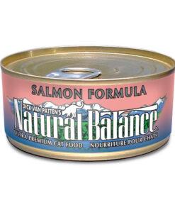 Natural Balance Salmon Formula Canned Cat Food