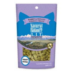 Natural Balance L.I.T. Limited Ingredient Treats Rabbit & Potato Formula Cat Treats