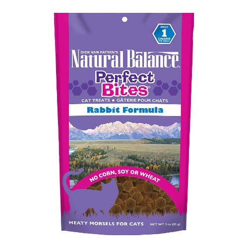 Natural Balance Perfect Bites Rabbit Formula Cat Treats