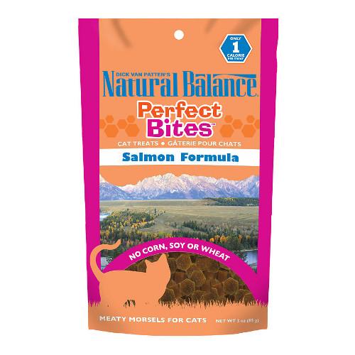 Natural Balance Perfect Bites Salmon Formula Cat Treats