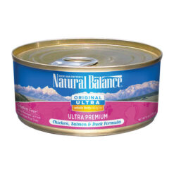 Natural Balance Whole Body Health Chicken Salmon Duck Canned Cat Food