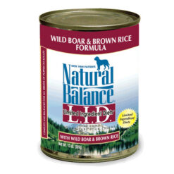 Natural Balance L.I.D. Limited Ingredient Diets® Wild Boar & Brown Rice Canned Dog Food