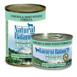 Natural Balance L.I.D. Limited Ingredient Diets® Chicken & Sweet Potato Canned Dog Food