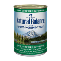Natural Balance L.I.D. Limited Ingredient Diets® Lamb & Brown Rice Canned Dog Food