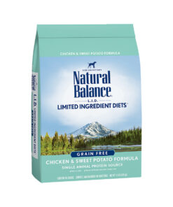 Natural Balance Grain Free L.I.D. Chicken and Sweet Potato Dry Dog Food