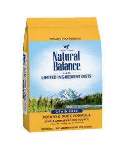 Natural Balance Grain Free L.I.D. Potato and Duck Dry Dog Food