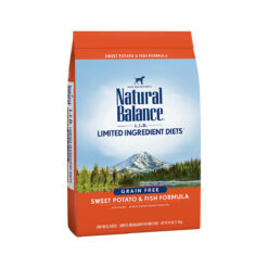 Natural Balance Grain Free L.I.D. Sweet Potato and Fish Dry Dog Food