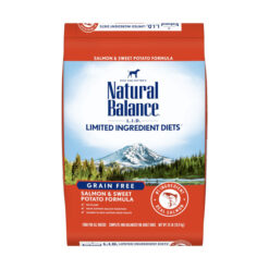 Natural Balance Grain Free L.I.D. Sweet Potato and Salmon Dry Dog Food