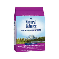 Natural Balance Grain Free L.I.D. Sweet Potato and Venison Dry Dog Food