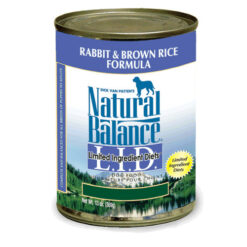 Natural Balance L.I.D. Limited Ingredient Diets® Rabbit & Brown Rice Canned Dog Food