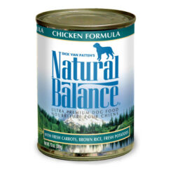 Natural Balance Ultra Premium Chicken Canned Dog Food
