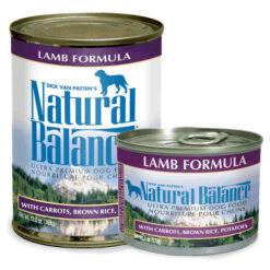 Natural Balance Ultra Premium Lamb Canned Dog Food