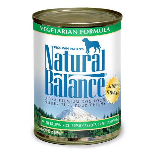 Natural Balance Vegetarian Canned Dog Food