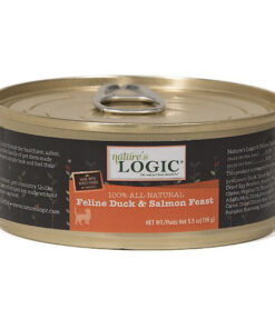 Nature's Logic Feline Duck & Salmon Recipe Canned Cat Food