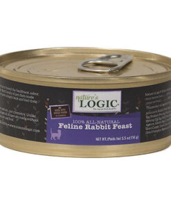 Nature's Logic Feline Rabbit Feast Canned Cat Food