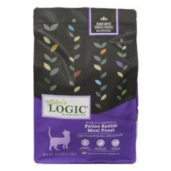 Nature's Logic Feline Rabbit Meal Feast Dry Cat Food