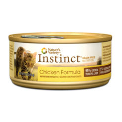 Nature's Variety Instinct Grain Free Chicken Formula Canned Cat Food