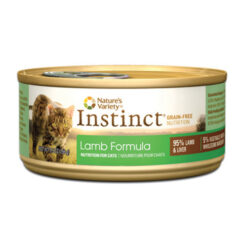 Nature's Variety Instinct Grain Free Lamb Formula Canned Cat Food