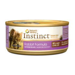 Nature's Variety Instinct Grain Free Rabbit Formula Canned Cat Food