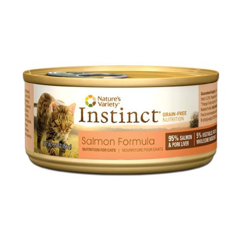 Nature's Variety Instinct Grain Free Salmon Formula Canned Cat Food