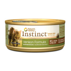 Nature's Variety Instinct Grain Free Venison Formula Canned Cat Food