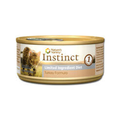 Nature's Variety Instinct Grain Free Limited Ingredient Turkey Formula Canned Cat Food