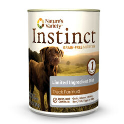 Nature's Variety Instinct Limited Ingredient Diet Duck Formula Canned Dog Food