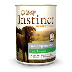 Nature's Variety Instinct Limited Ingredient Diet Lamb Formula Canned Dog Food