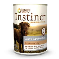 Nature's Variety Instinct Limited Ingredient Diet Turkey Formula Canned Dog Food