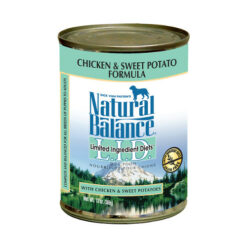 Natural Balance L.I.D. Limited Ingredient Diets® Chicken & Sweet Potato Canned Dog Food 13oz